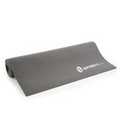 PVC無毒環保材質雙色雙用瑜珈墊-6mm-灰色/黑色