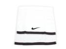 NIKE 運動毛巾-白黑(柔軟 吸水 80x38公分 100%純棉