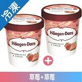哈根達斯 草莓+草莓組經典超值組 (473mlX2入/組)【愛買冷凍】