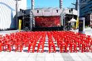 ★集樂城燈光音響★台北地區紅色塑膠椅出租...