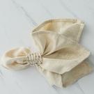 歐式餐巾布折花方巾