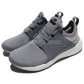 New Balance 慢跑鞋 WCRUZSG B 灰 白 襪套式 反光 運動鞋 緩震穩定型跑鞋 女鞋【ACS】 WCRUZSGB