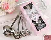 幸福愛心量勺 餐具 送客禮 婚禮小物【皇家結婚用品】
