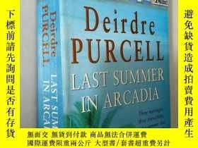二手書博民逛書店LAST罕見SUMMER IN ARCADIAY5919 Deirdre Purcell headline