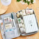 韓國帆布筆袋簡約小清新大容量鉛筆袋 可愛中學生多功能文具盒女 焦糖布丁