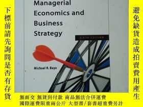 二手書博民逛書店Managerial罕見Economics and Busine