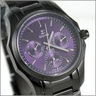 【萬年鐘錶】SIGMA日系 三眼時尚錶 1018B-B5