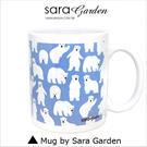 客製化 陶瓷 馬克杯 咖啡杯 手繪北極熊