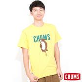 CHUMS 日本 男 Ice Cream Booby 冰棒 輕柔綿短袖T恤 含羞草黃 CH011044Y009