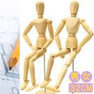 32CM素描木製人偶12吋關節可動木頭人32公分小木偶玩偶假人繪畫寫真動漫畫美術用品人像攝影