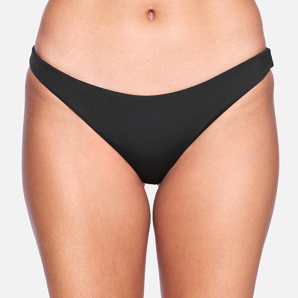 HURLEY|女 SOLID MODERATE BIKINI BOTTOM 比基尼褲