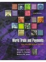 二手書博民逛書店《World trade and payments : an i