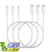 [106美國直購] [3 Pack]Anker PowerLine Lightning(3ft)Apple MFi Certified Durable Cable 充電線 傳輸線