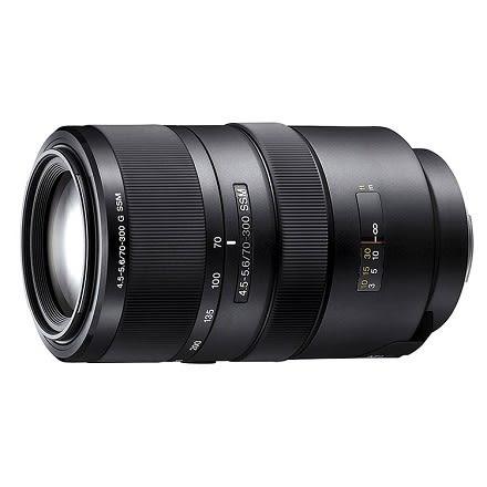 SONY G 鏡70-300mm F4.5-5.6 數位單眼相機鏡頭 SAL70300G