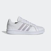 Adidas NEO Grand Court [EE7465] 女鞋 休閒 運動 時尚 經典 復古 舒適 愛迪達 白紫