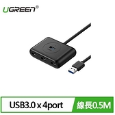 UGREEN 綠聯 4 Port USB3.0集線器 0.5M