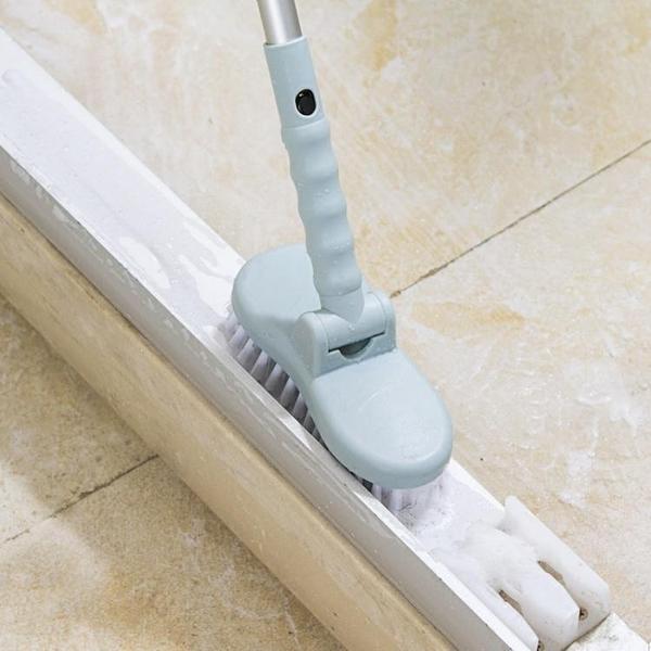 地板刷 居家家浴室長柄刷子硬毛地板刷廁所衛生間洗地刷瓷磚刷地板清潔刷 零度WJ