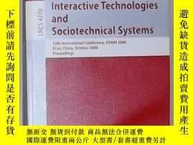二手書博民逛書店英文原版罕見Interactive Technologies a