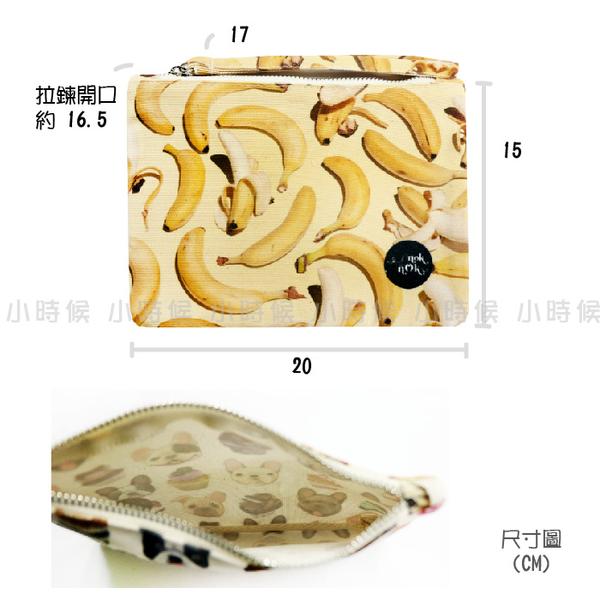 ☆小時候創意屋☆ 泰國品牌 nok nok 恐龍 帆布 手拿包 曼谷包 手挽包 手機包 零錢包 化妝包 BKK包