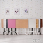 折疊桌ins餐桌家用小戶型小桌子小方桌書桌簡易經濟型飯桌折貼桌