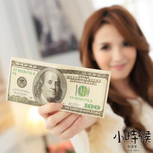 ☆小時候創意屋☆台幣美金紙鈔錢幣包 錢包/短夾/短包/悠遊卡包/送禮
