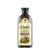 俄羅斯 Agafia 阿卡菲 黑麥啤酒花頭皮調理洗髮露 350ml  阿卡菲老奶奶【YES 美妝】