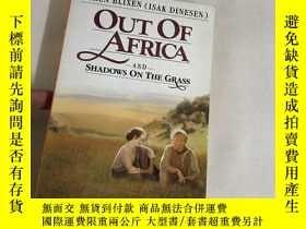 二手書博民逛書店Out罕見of Africa and Shadows on th