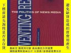 二手書博民逛書店Inventing罕見Reality: The Politics Of News Media-創造現實:新聞媒體的