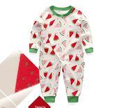 嬰兒連體衣 斜襟開扣款 寶寶春秋哈衣