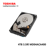 Toshiba 4TB 3.5吋 硬碟(MD04ACA400)