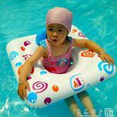 兒童游泳圈坐圈1-3歲嬰兒游泳圈腋下圈寶寶坐圈兒童船喇叭船   良品鋪子
