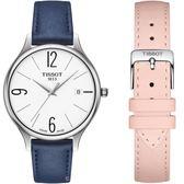 Tissot天梭臻時系列時尚腕錶 T1032101601700