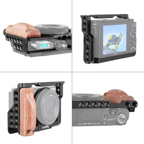 SmallRig 2105 Cage 鋁合金外框套組 For Sony RX100 III IV V 兔籠 RX100M3 M4 M5 錄影用支架 Arca 公司貨