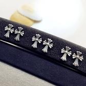 925純銀耳環-十字架歐美時尚經典百搭生日母親節禮物女飾品73ld33【時尚巴黎】
