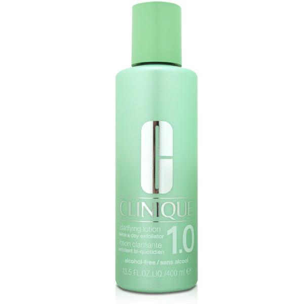 CLINIQUE 倩碧 三步驟溫和潔膚水保濕型 (#1.0) 400ml 【橘子水美妝】