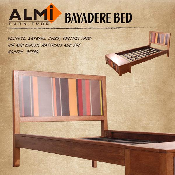【ALMI】BAYADERE-BED 109x192 雙抽單人床