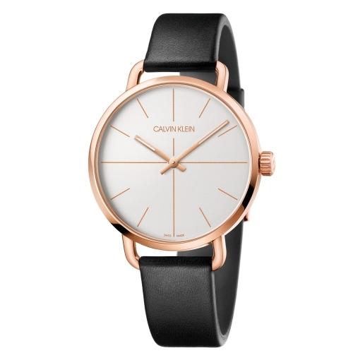 Calvin Klein CK超然系列皮帶腕錶(K7B216C6)42mm
