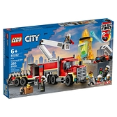 LEGO 樂高 CITY 城市系列 60282 消防指揮車 【鯊玩具Toy Shark】