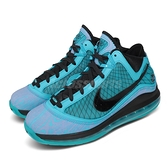 Nike 籃球鞋 LeBron VII QS 7 2010 明星賽 All Star 藍 黑 氣墊 男鞋 【ACS】 CU5646-400