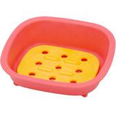 《Sceltevie》濾水肥皂盒(桃)