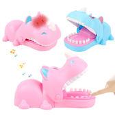 愚人節玩具咬手聲光犀牛兒童互動整蠱惡搞電動燈光音效玩具