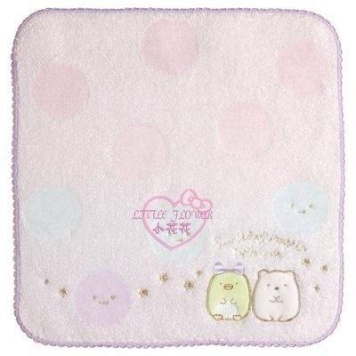 小花花日本精品角落生物棉質小方巾手帕擦汗巾單一價~3