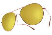 OLIVER PEOPLES 水銀太陽眼鏡 ROCKMORE 5037W4 (玫瑰金) 經典潮流飛官黃水銀款 # 金橘眼鏡