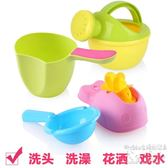兒童洗澡玩具手動水輪車 水壺套裝  BS19191『科炫3C』