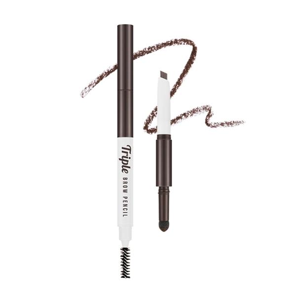 MISSHA 三式設計眉彩筆 (可可棕) 眉筆0.22g+眉粉0.5g