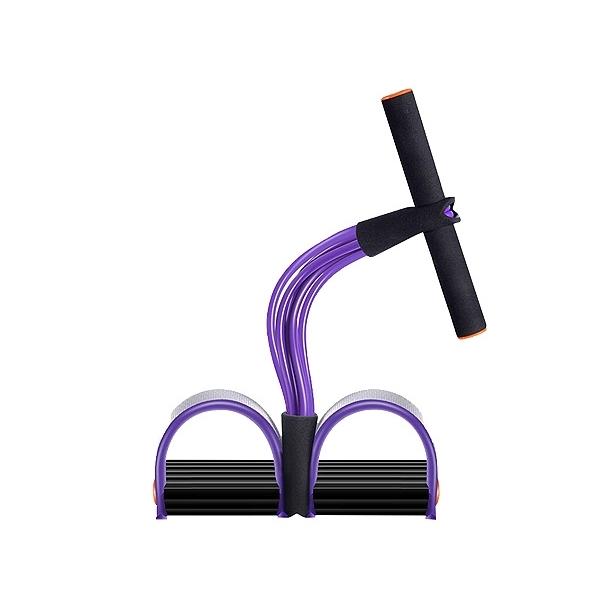 拉力繩(升級加強型6管-紫色)1入【小三美日】