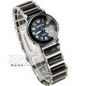BETHOVEN 日本機芯 都會時尚 數字時刻 防水手錶 女錶 學生錶 黑色 BE3984黑小
