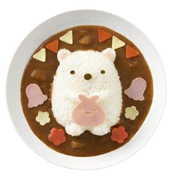 【卡漫城】 角落生物 飯模 ㊣版 日本製 模具 壓模器 白飯造型 裝飾 食材模型 小夥伴 Sumikko Gurashi