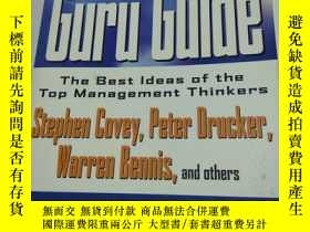 二手書博民逛書店The罕見Guru Guide: The Best Ideas
