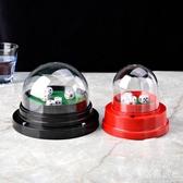 大號電動全蓋骰盅 喝酒電動篩盅 色盅骰子 自動色盅 送 優尚良品
